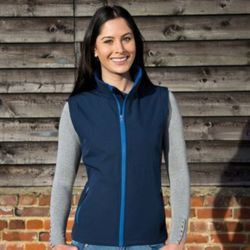 Women's printable softshell bodywarmer Thumbnail
